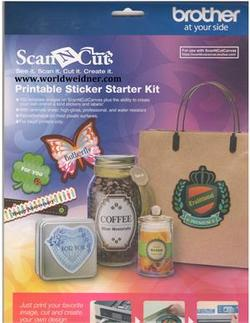 ScanNCut  Printbar labels starter kit